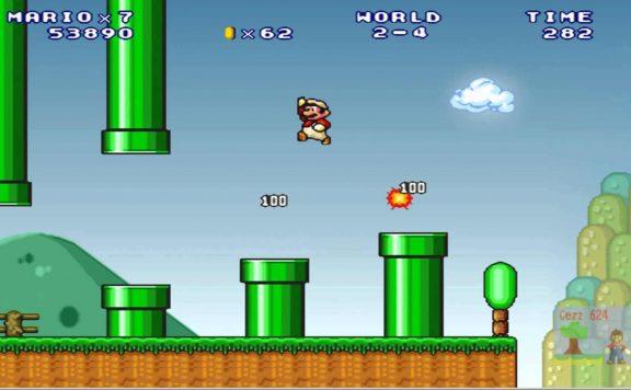 Super Mario 3 Mario Forever