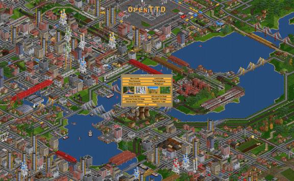 OpenTTD Screenshot
